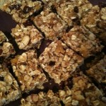 Gooey Granola Bars Recipe Image