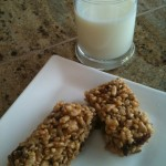 Nut Butter Energy Bars (gluten free, egg free, dairy free, vegan) Recipe Image